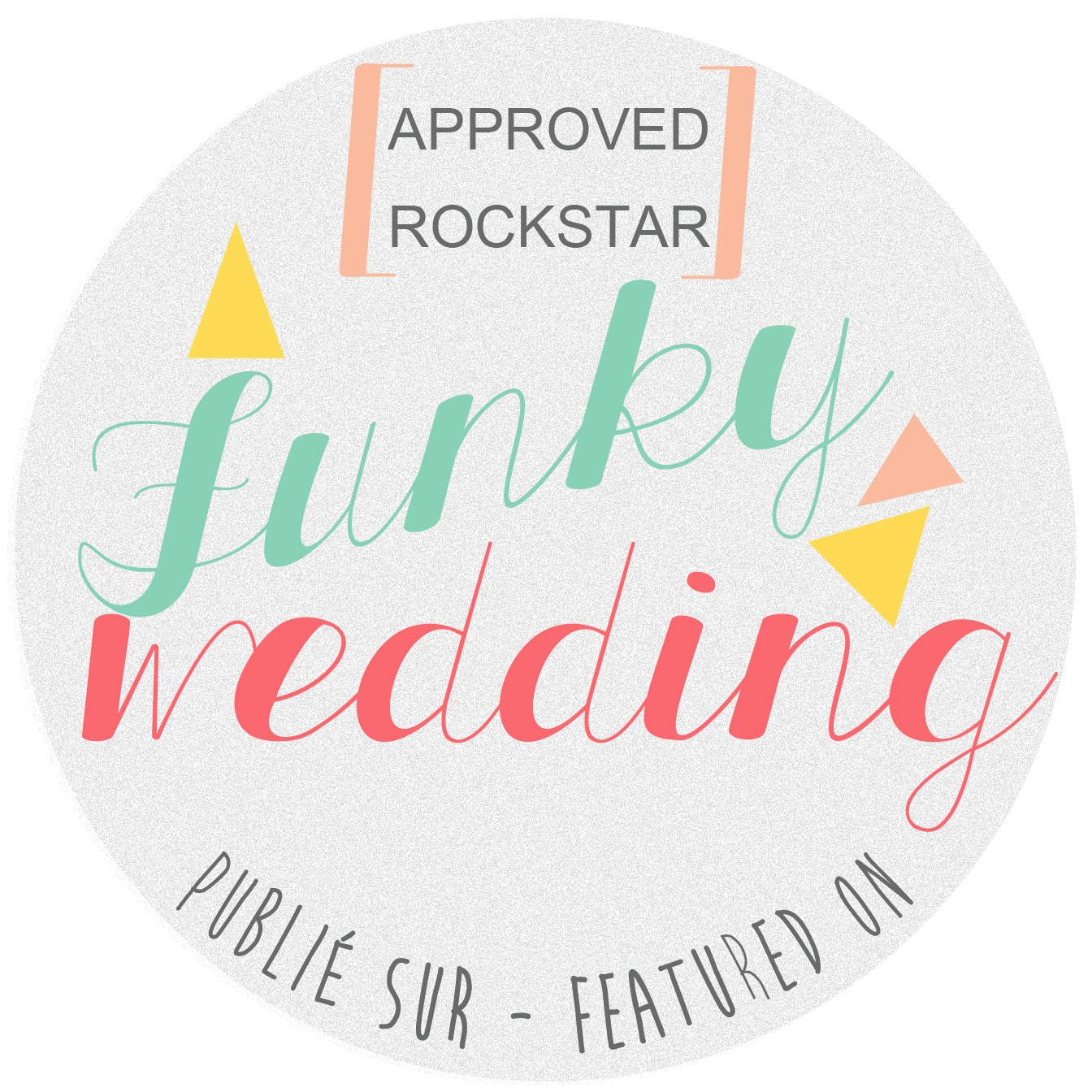 Featured on Funky Wedding- French Wedding blog