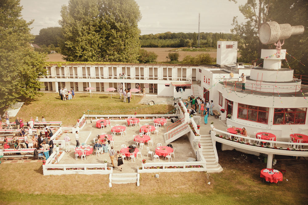 Alice gr gory mariage base de loisirs abandonn e for Piscine chantilly