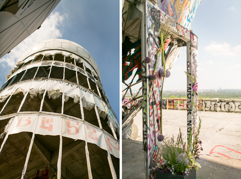 Fran-Burrows-funky-wedding-teufelsberg-Berlin (11)
