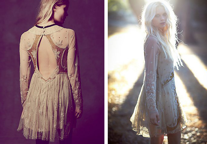 Robe FreePeople 354 Euros