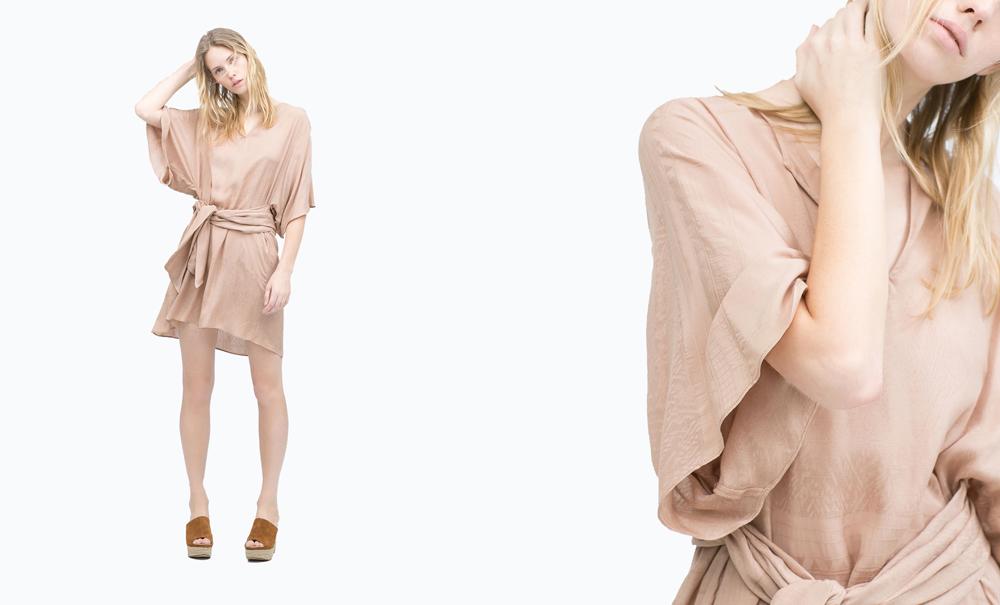 Robe Zara 49,90 Euros