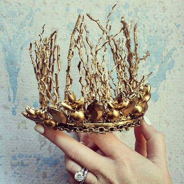 couronne mariée funky