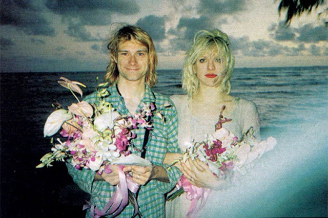 kurt cobain et courtney love mariage à hawai en 1992