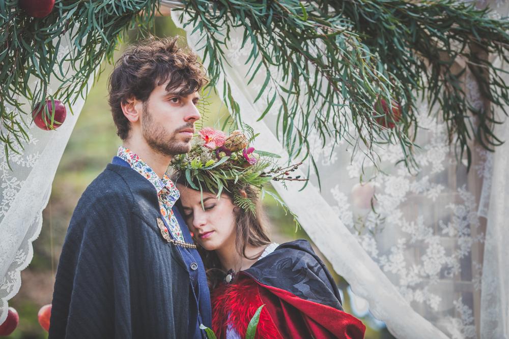 mariage forêt de Brocéliande, blanche neige