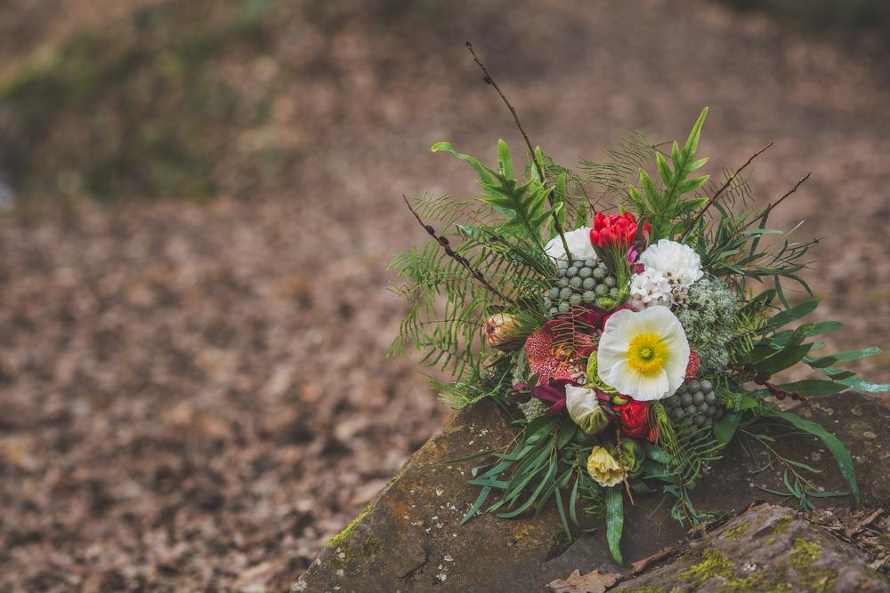 bouquet funky shooting inspiration conte de fée