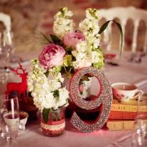 centre-de-table-mariage-déco-paillettes-noel
