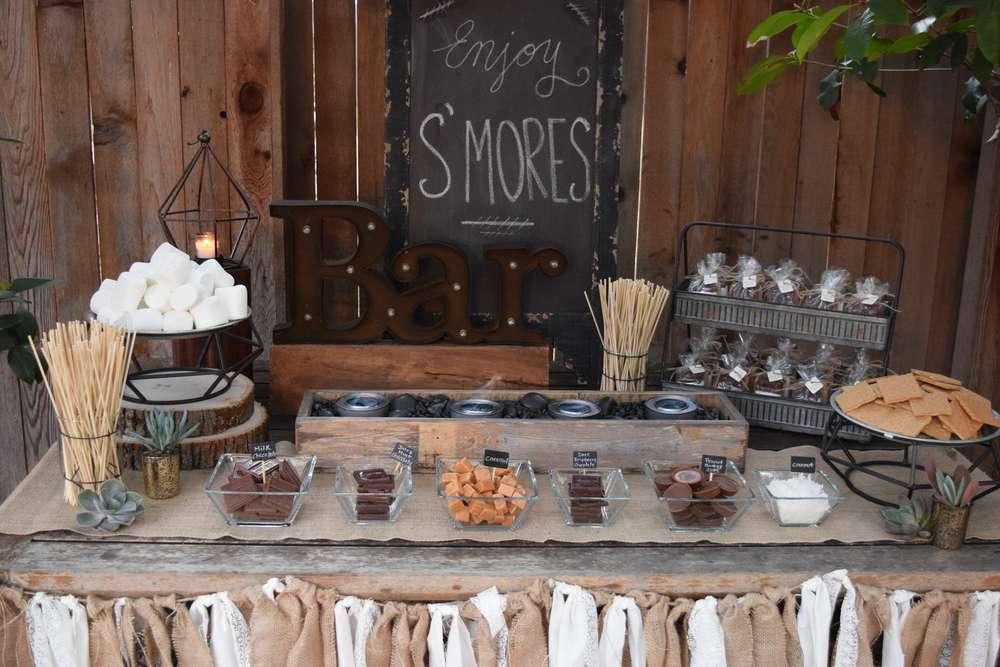 s'mores bar pour ton mariage